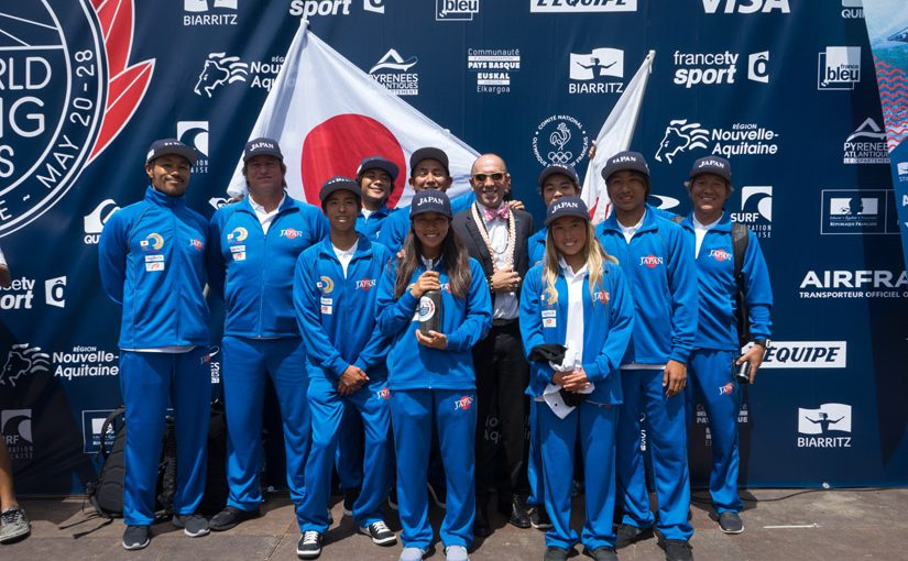 40 surfers will qualify for Tokyo 2020